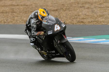 Steven Odendaal se impone en el último día de test en Jerez donde la lluvia ha sido la protagonista