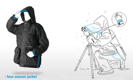 Gitzo Four Season Jacket, la chaqueta que todo fotógrafo querría tener