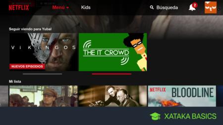 Cómo eliminar una serie de la lista 'Seguir Viendo' en Netflix