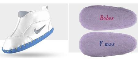 """Las primeras Nike del bebé (por """"tan solo"""" 45 euros)"""