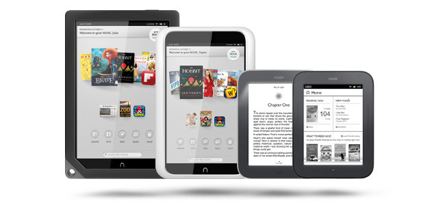 Nook tablets y ereaders