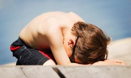 El agotamiento por calor, otro riesgo de las altas temperaturas para los niños
