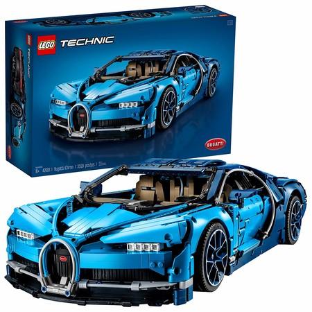 Bugatti Chiron Lego Techinc