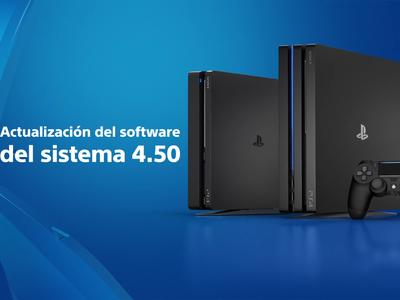 La actualización de software 4.50 para PlayStation 4 ahora si ya tiene fecha de lanzamiento y aquí están todas sus novedades
