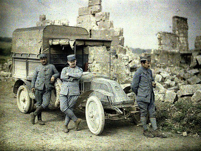 Así es cómo el automóvil se impuso en los ejércitos