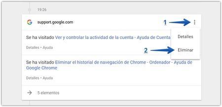 Eliminar Historial Navegacion Mi Actividad Google 3