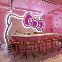 Hello Kitty aterriza en California con un café tan cool que nos morimos por visitarlo
