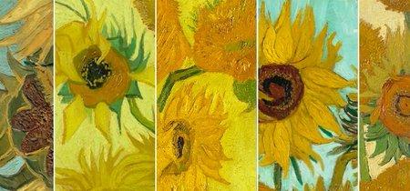 """Van Gogh está de actualidad y Facebook reúne cinco de sus """"Girasoles"""" en una exposición irrepetible"""