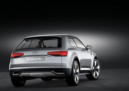 Audi Crossline Coupé - trasera