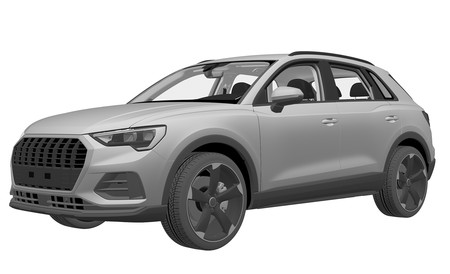Audi ya ha registrado el diseño de un Q3 de corte deportivo: ¿SQ3 o RS Q3?