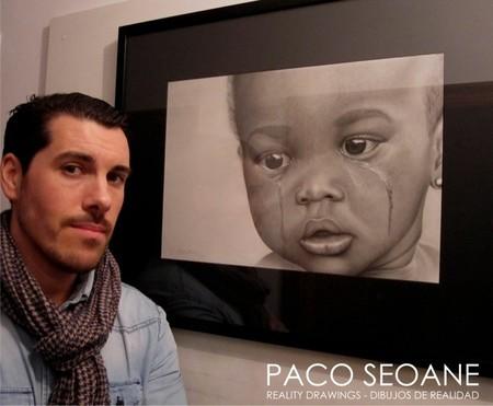 """Paco Seoane: """"el dibujo forma parte de mi vida, he estado dibujando desde muy niño y no concibo mi día a día sin dibujar"""""""