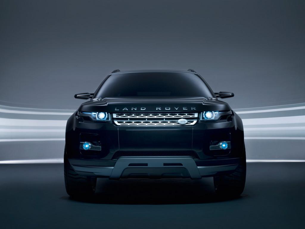 Black Land Rover LRX Concept