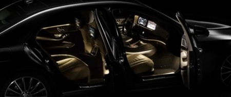 S-Class interior general