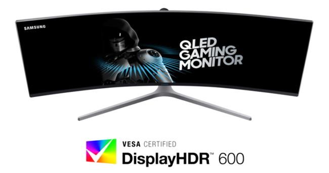 El primer monitor certificado para HDR será el Samsung CHG90 de 49 pulgadas