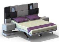 iCon Bed, una cama de lujo con soportes para iPads