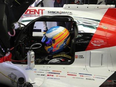 Las 113 vueltas de Fernando Alonso en el Toyota  TS050 HYBRID de las que todo el mundo habla