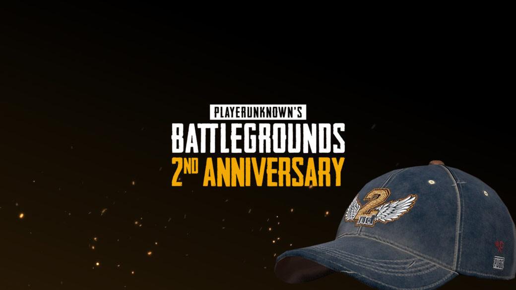 c5b636a36d711 PUBG celebra su segundo aniversario por todo lo alto y regala una gorra de  beisbol a sus usuarios
