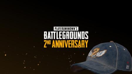 PUBG celebra su segundo aniversario por todo lo alto y regala una gorra de beisbol a sus usuarios