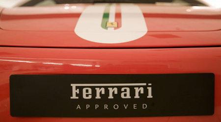Ferrari vende sus modelos de segunda mano con todas las garantías