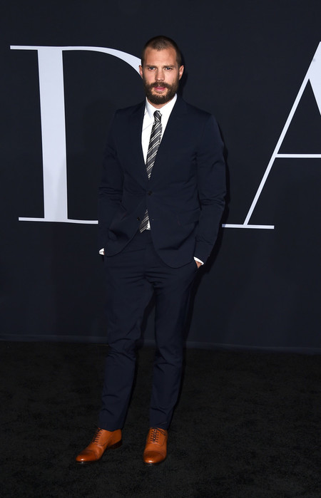Jamie Dornan Fifty Shades Darker Premiere Valentino Suit