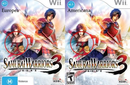'Samurai Warriors 3', censura tetil en la versión para EEUU