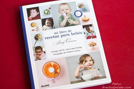 Mi libro de recetas para bebés de Jenny Carenco