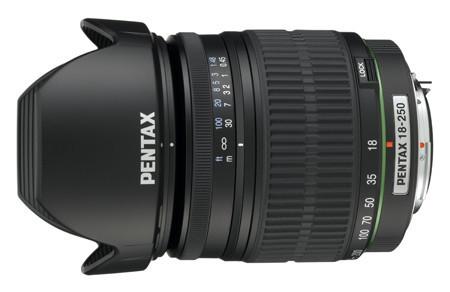 Nuevo objetivo de Pentax: DA18-250 mm f/3,5-6,3 ED AL IF
