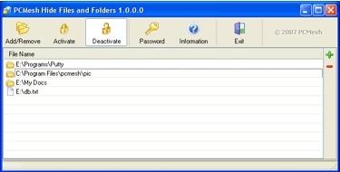 Hide Files and Folders, mejor que no