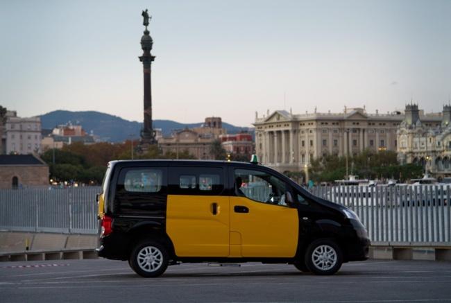 Nissan NV200 y e-NV200 concept taxi Barcelona