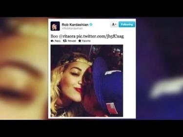 """Rita Ora y Rob Kardashian han roto con """"cuernacos"""" de por medio"""