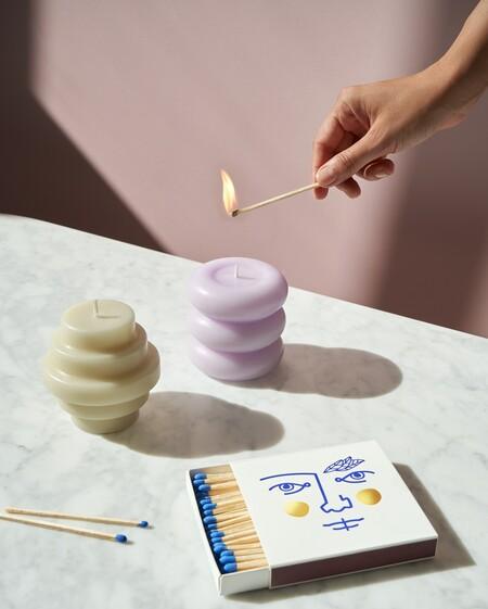 Novedades deco: Octaevo Barcelona presenta sus nuevas (y evocadoras) velas escultóricas