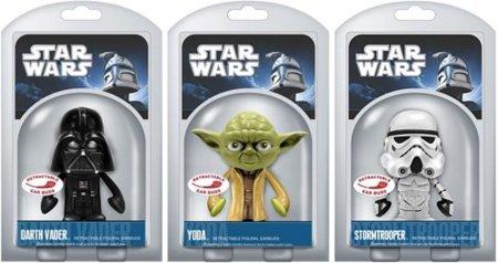 Auriculares retráctiles de Funko inspirados en Star Wars