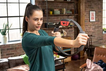 Nintendo Switch Ring Fit Adventure Hacer Fitness Sin Salir De Casa Con Un Videojuego 3