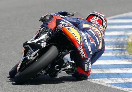 Marquez Test Jerez 2010