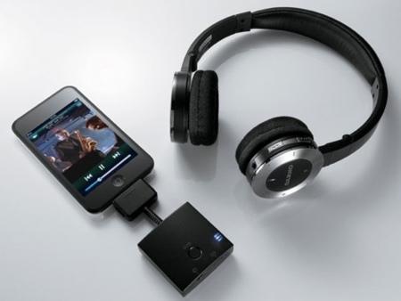 Onkyo MHP-UW2, auriculares inalámbricos para iPod