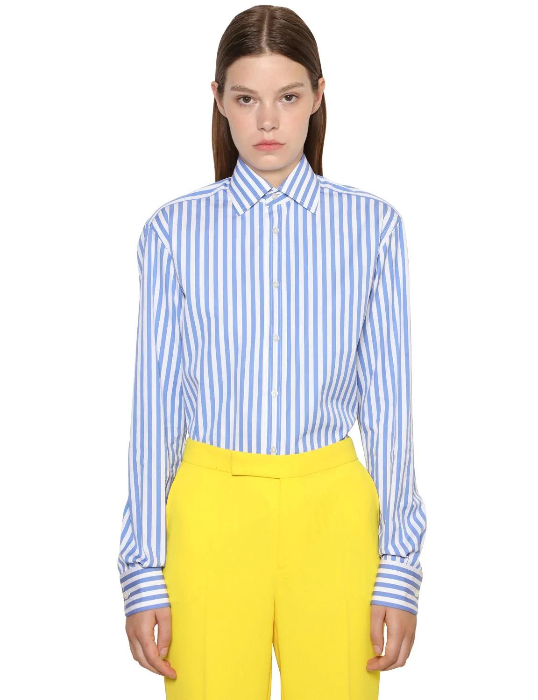 Camisa de rayas masculina de Ralph Lauren