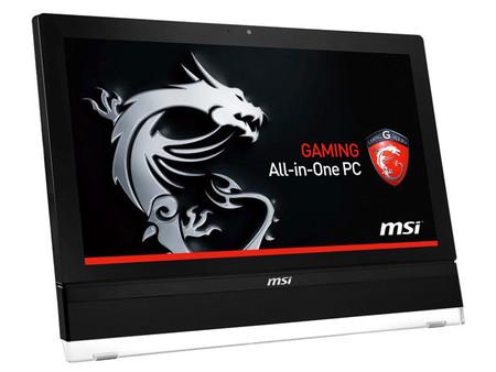 MSI quiere que los ordenadores todo en uno también sean para jugones
