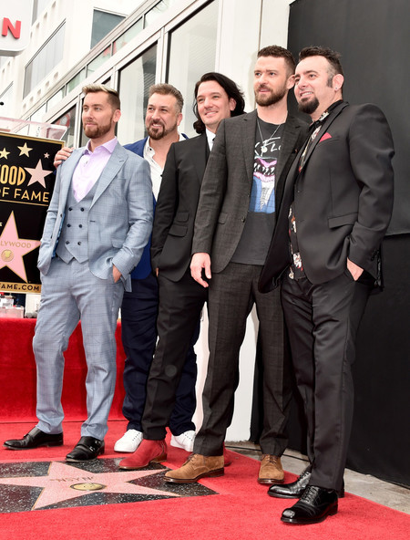 Nsync Hollywood Walk Of Fame Star