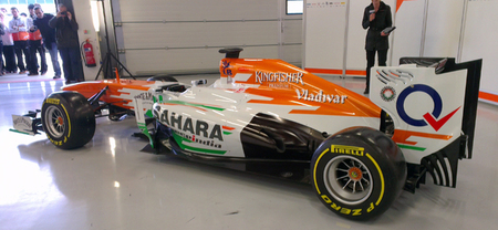 Force India presenta el VJM06