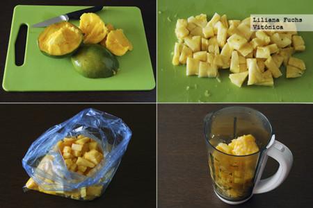 Smoothie Pina Mango Pasos