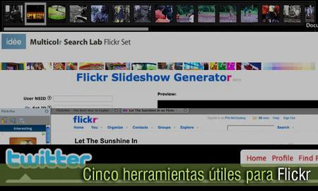 Cinco herramientas útiles para Flickr