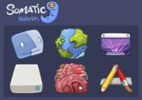 Somatic Rebirth, el nuevo paquete de iconos de David Lanham