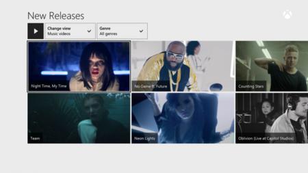 Los vídeos musicales se suman a la oferta de Xbox Music en la One