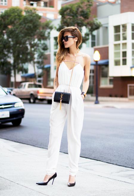 Mono Jumpsuit Blanco Prenda Verano 2016 1