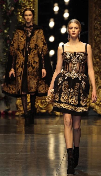 Tendencias Otoño-Invierno 2012/2013: el barroco llega a nuestras vidas