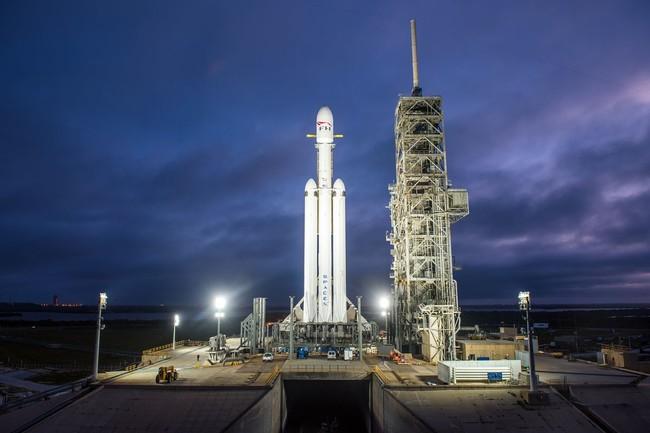 Lanzamiento Del Falcon Heavy En Directo