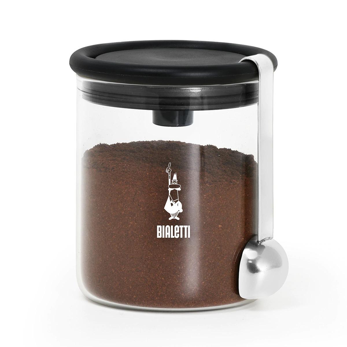 Tarro de cristal para café con dosificador