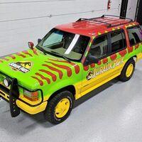 Esta Ford Explorer inspirada en Jurassic Park será subastada en unos días a través de Barret Jackson