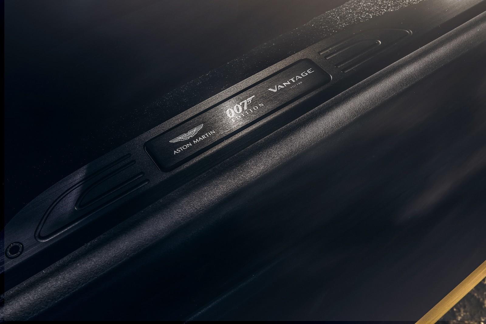 Foto de Aston Martin Vantage y DBS Superleggera 007 Edition (28/39)