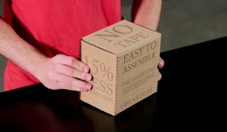 Amazon, atenta: llega la caja de cartón 2.0